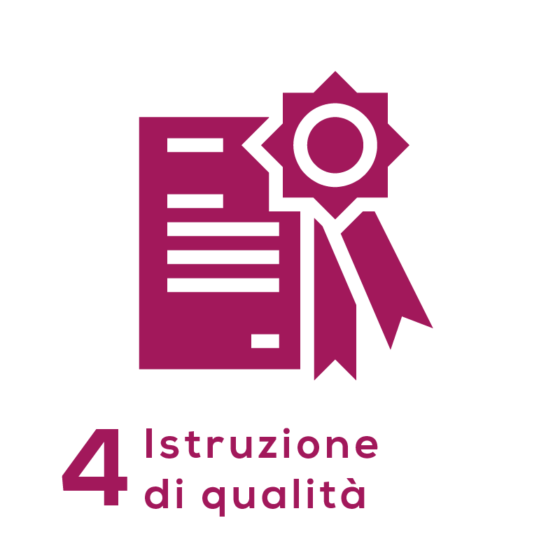 GOAL 4 - Istruzione di qualità