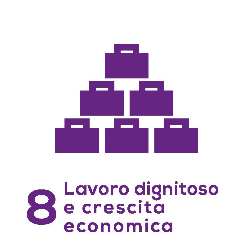 GOAL 8 - Lavoro dignitoso e crescita economica