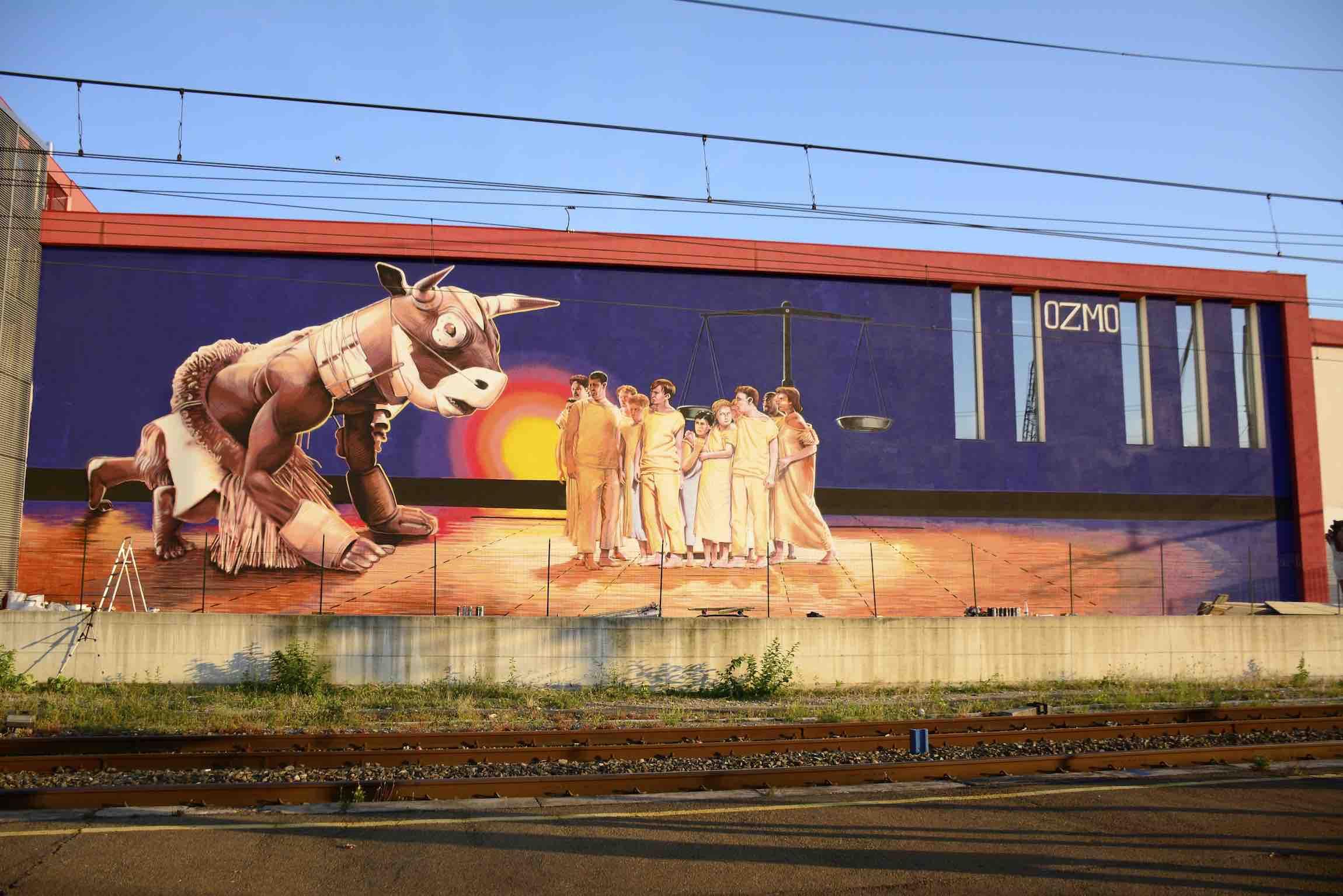 Urban art field - Mani Sporche